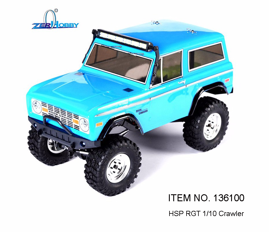 hsp racing rc car 1 10 scale electric 4wd off road rock. Black Bedroom Furniture Sets. Home Design Ideas