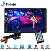 Podofo 2 Din 7010B Car Radio 7 HD Touch Screen Player MP5SD FM MP4 USB Bluetooth