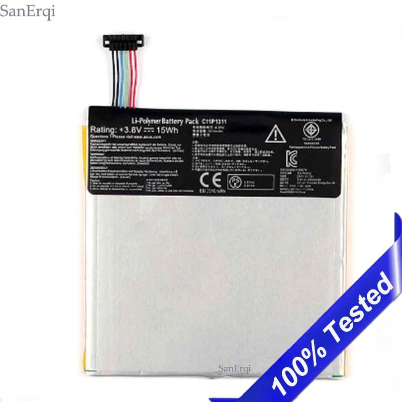 Bateria Para ASUS FONEPAD C11P1311 7 ME175 ME175CG K00S K00Z Batterie Bateria 3910 mAh SanErqi
