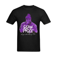 Tasarım Stil Yeni Moda Erkek t-Shirt Casual Tops Sean Fiyat Klasik Görüntü