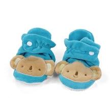 New Fashion First Walkers 0-12 Months Animal Design Newborn Baby Shoes Infant Toddler Boys Girls Soft Prewalker Crib Warm Shoes