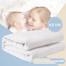цена на i-baby Baby Duvet with Filling 4.5 TOG Oeko Tex Certified Nursery Warm Quilt Crib Bedding Set Cot Newborn Comforter 120x150cm