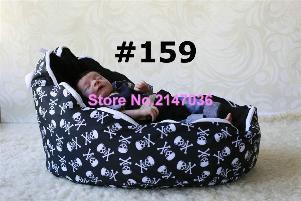 holloween skull bones with black seat Cheap Baby Bean Bag Children Sofa Chair Cover Soft Bedholloween skull bones with black seat Cheap Baby Bean Bag Children Sofa Chair Cover Soft Bed