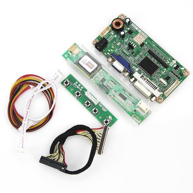 VGA + DVI Para B154EW02 V7 LP154WX4-TLC3 M. R2261 M. RT2281 LCD/LED Placa Driver do Controlador 1280x800 LVDS Monitor de Reaproveitamento Laptop