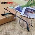 Ecovacs pure titanium restaurar antigas formas óculos de armação homem círculo miopia óculos óptica quadro senhora frame de espetáculos e 8018