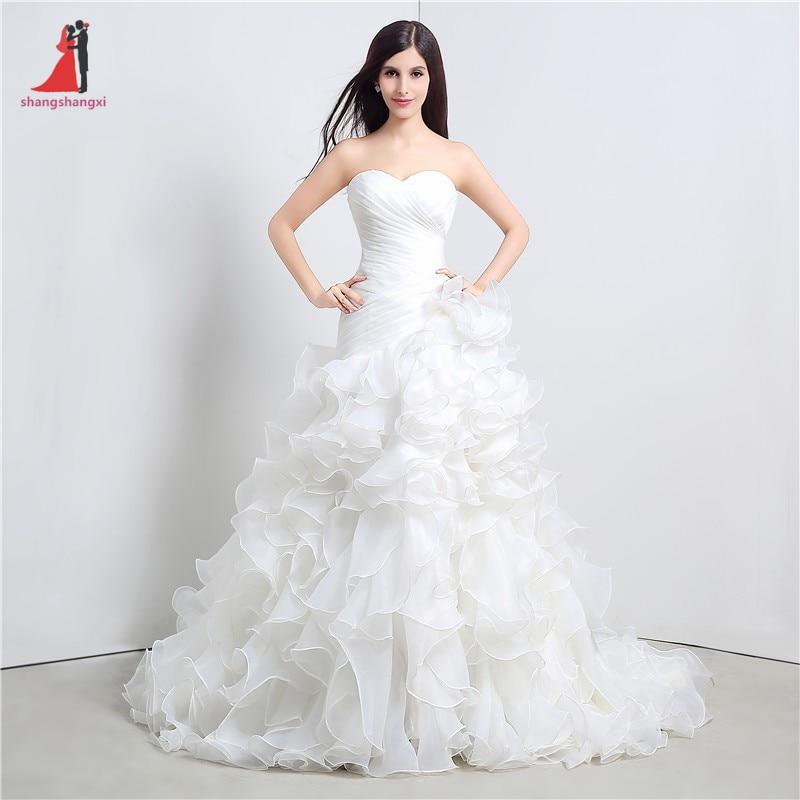 Cheap Mermaid Wedding Gowns: 2017 Sexy Mermaid White Wedding Dresses Sweetheart