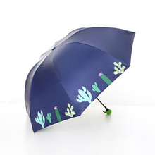 Cactus is cute, small, fresh, folded, clear umbrella, and covered with ultraviolet rays to prevent sunburn. mihran krikor kassabian roentgen rays and electro therapeutics