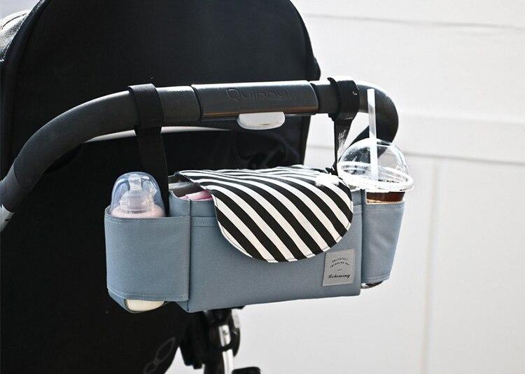 Universal 2018 cochecitos organizador cochecito cesta biberón pañal mamá bolsa recién nacido Nappy bolsa de almacenamiento bolso de la momia