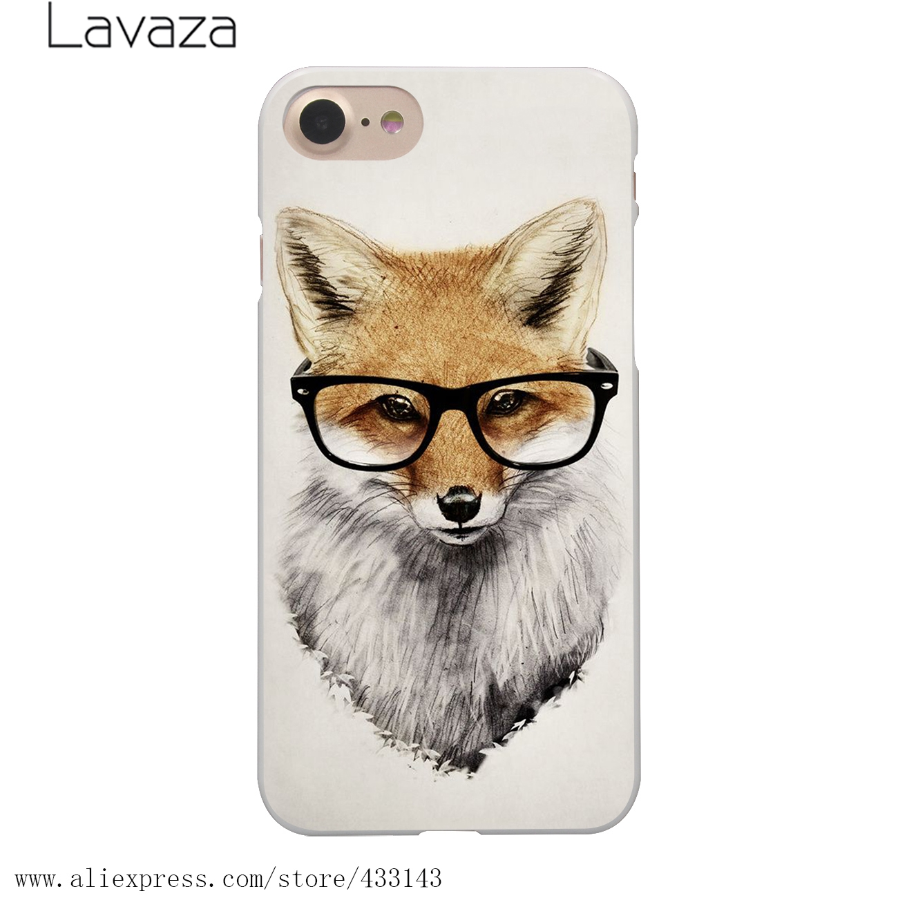 aliexpress com buy lavaza fashion raccoon art print hard white