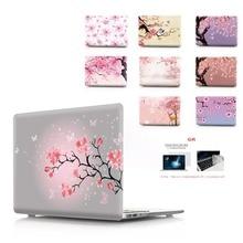 꽃 컬러 인쇄 노트북 케이스 Macbook Air 11 13 Pro Retina 12 13 15 인치 색상 터치 바 New Pro 13 15 New Air 13