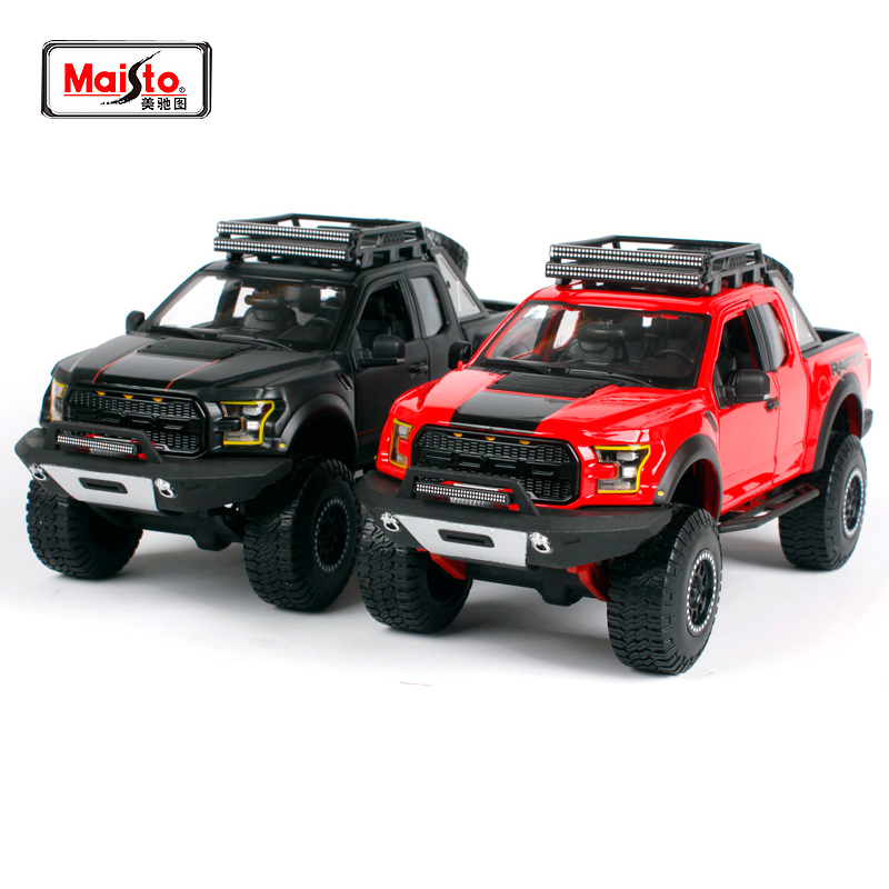 Maisto 1:24 OFF ROAD KINGS 2017 FORD F-150 F150 RAPTOR Pickup Diecast Model Car Toy New In Box Free Shipping 32521