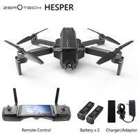 Оригинальный HESPER Selfie 4 K камера Дрон FPV с 1080 P HD камера gps система дроны Квадрокоптер дистанционное управление и приложение вертолет