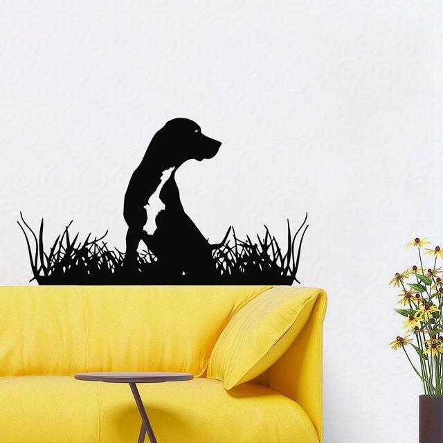 Dog Wall Decals Grooming Salon Puppy Pets Art Vinyl Sticker Pet Shop ...