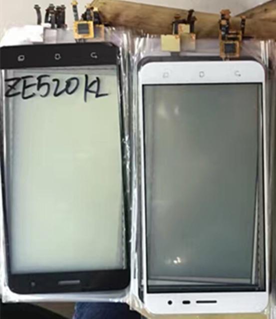 Acessórios do painel da tela de toque digitador para asus zenfone 3 ze520kl 5.2 polegada smartphone frete grátis + track número