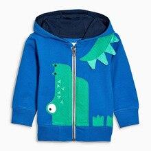 Hoodies Little Maven Animal Zipper Full-Sleeved Blue Boys Kids Cartoon New Casual Autumn