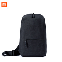 XIAOMI One shoulder bag multifunction 4L trend quick sport chest bag for guys scholar light-weight transportable mijia unique