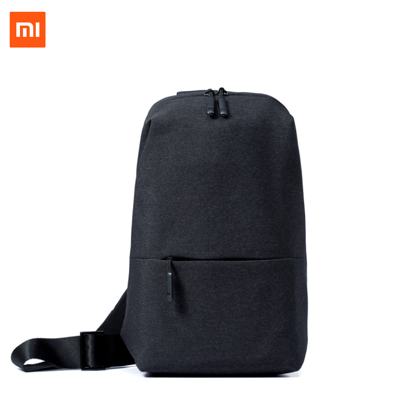 XIAOMI One shoulder bag multifunction 4L fashion brief sport chest bag for men student lightweight portable