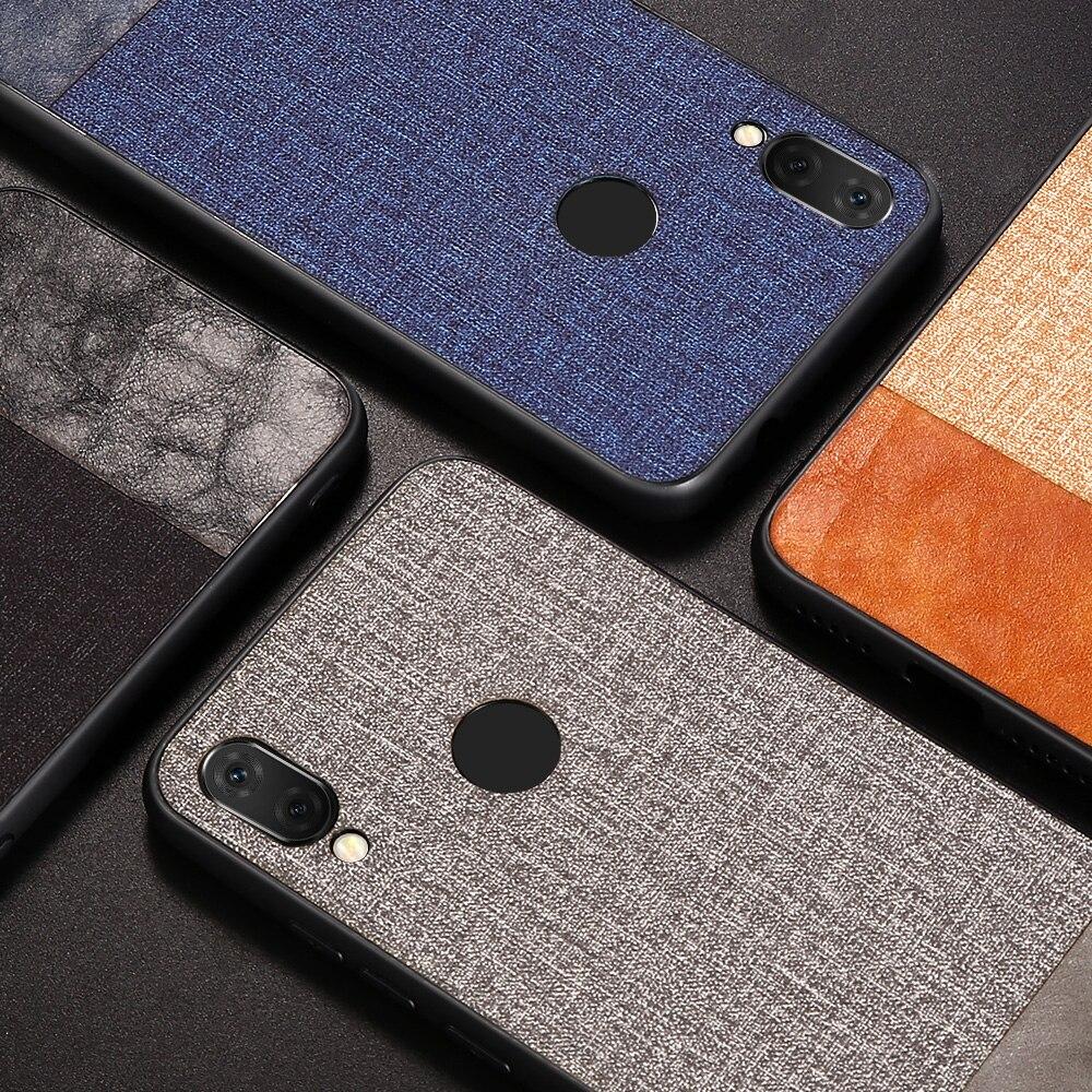 KISSCASE Phone Case For Xiaomi Redmi Note 8 7 6 Pro Cloth Leather Case For Xiaomi Redmi K20 Mi 9T 9 8 A2 Lite Pocophone F1 Cover