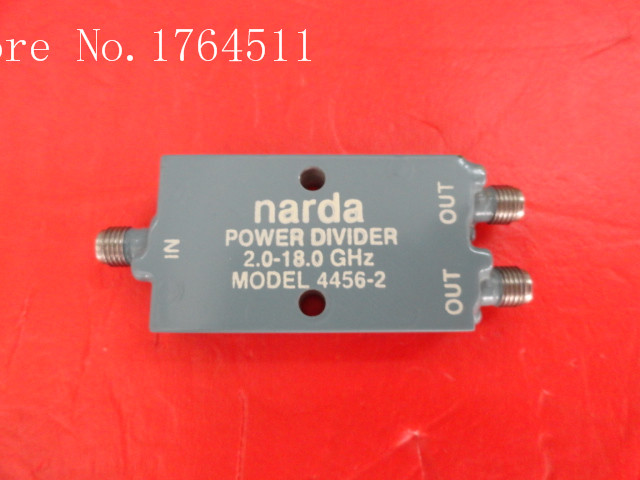 [BELLA] Narda 4456-2 2-18GHz A Two Supply Power Divider SMA