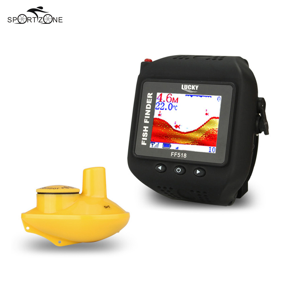 Lucky ff518 fish finder 60m 200ft waterproof fishfinder for Lucky fish finder