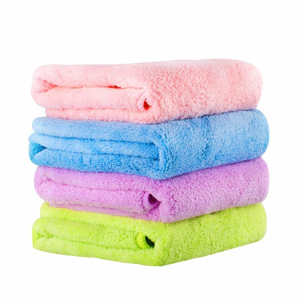 microfibra toalla de cara toallas súper absorbentes Suave cómodo - Textiles para el hogar
