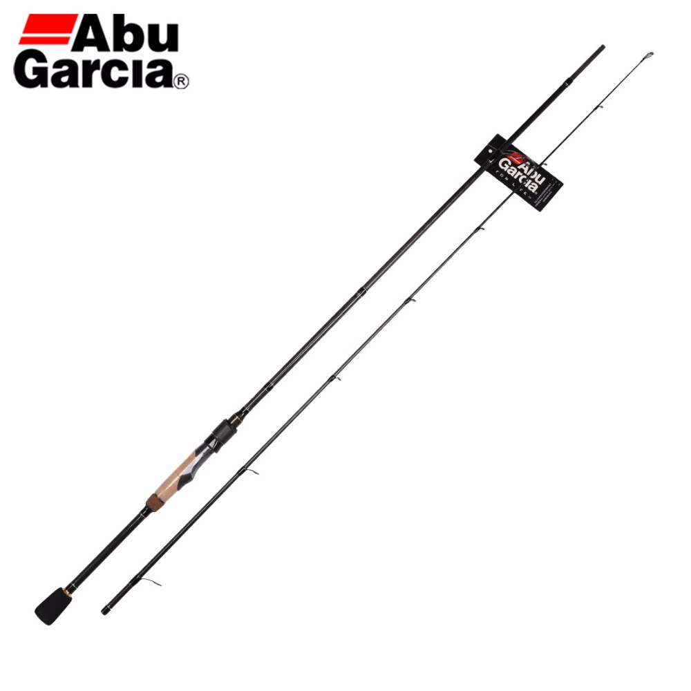 Spinning Fishing-Rod Abu Garcia Power-Carbon-Rod 2-Sections VILLAIN with EVA