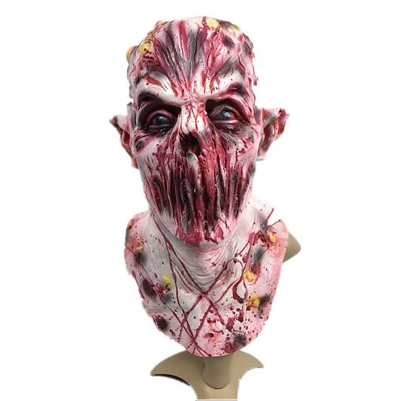 Classic American Horror Story Cosplay Mask Horrible Zombie No mouths Monster Full Face Mask Helmet Halloween Cosplay Props