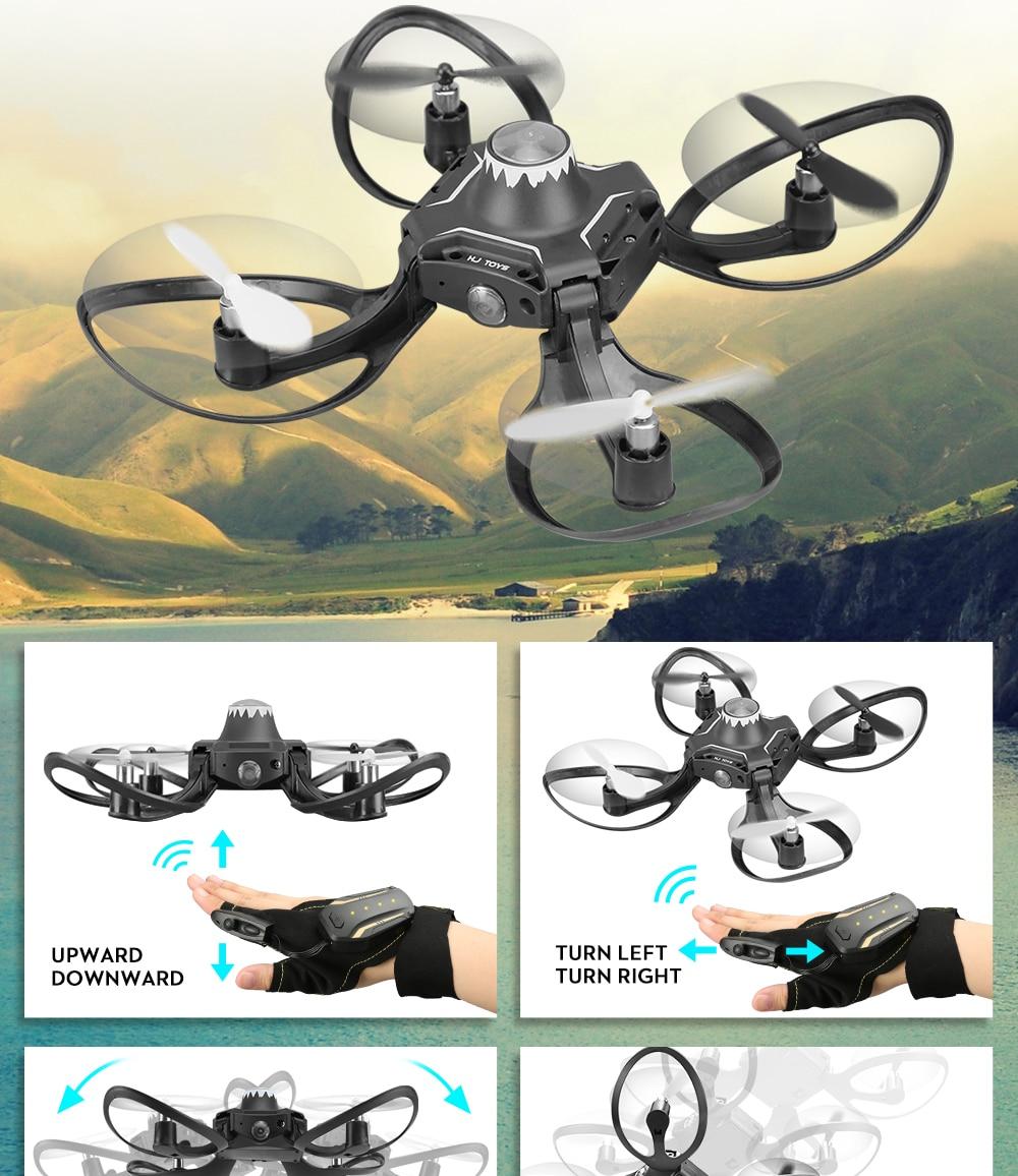 Valcano Gloves Control Mini Drone 12