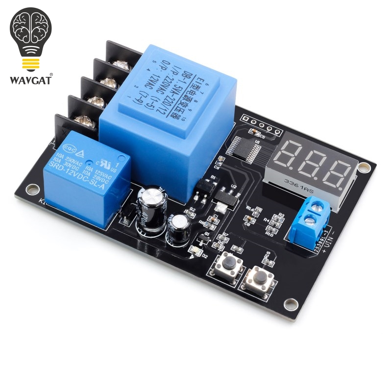 WAVGAT VHM-002 3,7 V-120 V Digital de control de carga de la batería de litio módulo de control de carga de la batería interruptor de control de la Junta de Protección