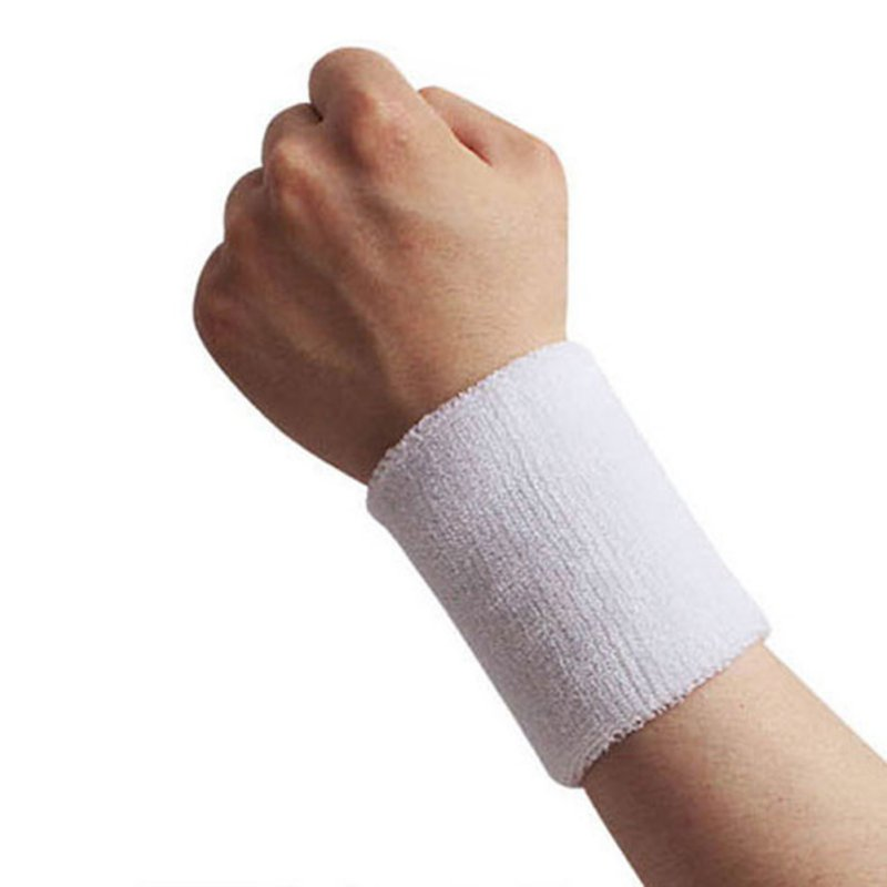 High Quality Recycling Use Protect Wrist Volleyball Basketball Tennis Badminton Sports Sweatband Wristband Sleeve Wrap Pro in Wrist Support from Sports Entertainment