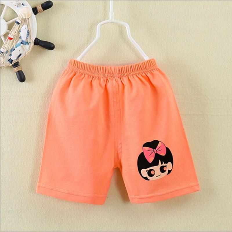 új baba rövid nadrág 0-3T baba nyár tiszta pamut nadrág - Bébi ruházat - Fénykép 4