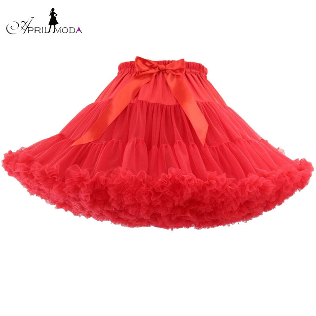 ee22dd823198 22 Colors Women Puffy Lolita Short Rigid Tutu Skirt Tulle Underskirt  Rockabilly Dance Petticoat Crinoline Vintage Mini Skirts