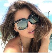 COOLSIR Unique Luxury Lady Sunglasses Women Cat Eye Half Frame CCSPACE Brand Designer Glasses Fashion Frames Eyewear