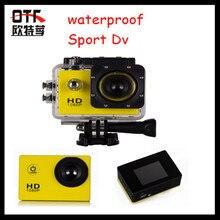 UTC Multi-función de 1.5 pulgadas deportes Dv 1920*1080 HD 1080 P Del Coche dvr cámara de la rociada del coche a prueba de agua soporte de webcam motion detección cam