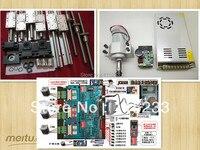 Полный набор CNC, в том числе: SBR16 и SFU1605 и шпинделя 300 Вт, & power & MACH 3 & NEMA 23 и 3 оси или 4 оси TB6560
