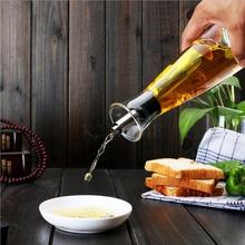 500 ml Botellas de Vidrio de Borosilicato de Alta Dispensador de Aceite Vinagre de Oliva Vinagre de Salud Puede Almacenamiento Vinagrera Con Pico Vertedor
