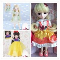1/6 30cm bjd sd dolls cheap doll/bjd doll diy doll 30CM high quality gift doll baby reborn girl blyth without box