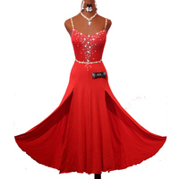 2017 New Latin Dance Dress For Women Lace Stage Perform Cha Cha Rumba Samba Practice Exercise
