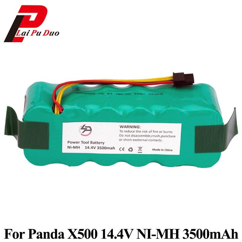 NI-MH 14.4 V 3500 mAh pour Panda X500 X600 pour Ecovacs Mirror CR120 aspirateur Batteries pour Dibea X500 X580NI-MH 14.4 V 3500 mAh pour Panda X500 X600 pour Ecovacs Mirror CR120 aspirateur Batteries pour Dibea X500 X580