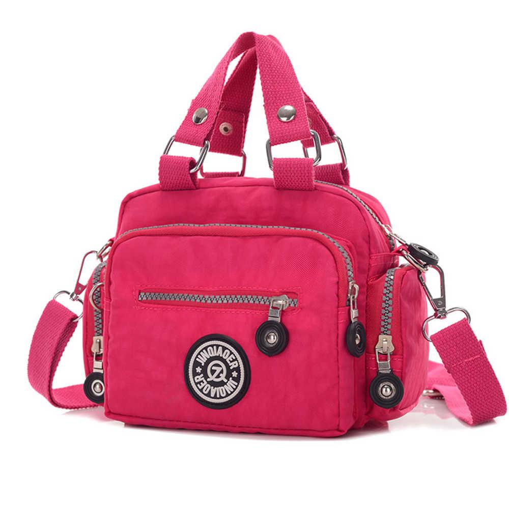 Нейлоновая женская сумка-мессенджер, маленькая сумка на плечо, женская сумка через плечо, сумки высокого качества, непромокаемая сумка, женская сумка