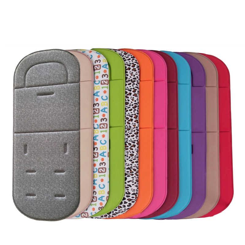 Universal para cochecito de bebé funda de cojín para asiento de cuatro estaciones transpirable para silla de paseo cubierta de almohadilla de Color sólido Accesorios