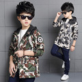 Jackets for Boys 2016 New Arrival Kids Children's Clothing Autumn Boy Outerwear Kids Camouflage Clothes Boy's Jacket Coats