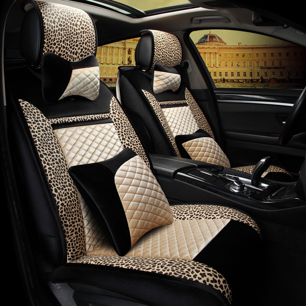 3D Car Seat Cover General Cushion Car Styling For Volkswagen Beetle CC Eos Golf Jetta Passat Tiguan Touareg sharan