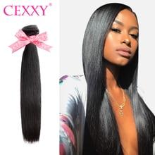 Paquetes de pelo lacio Cexxy 7A Paquete de Armadura de cabello virgen 1 3 4  piezas extensión de cabello humano peruano envío gra. 9f9b91621ed2