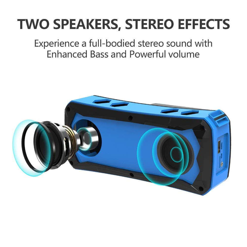 Image 3 - Outdoor Speaker Portable Waterproof Bluetooth Speaker Riding Climbing Bicycle Speakers Handsfree TF Card Audio Music Center-in Outdoor Speakers from Consumer Electronics