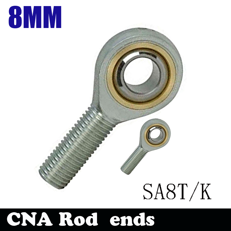 HOT SALE SA8T/K POSA8 <font><b>8mm</b></font> right hand male outer thread metric <font><b>rod</b></font> end joint bearing POS8A image