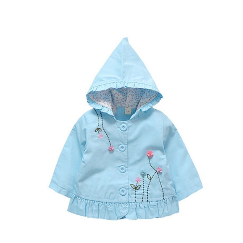 Jackets & Coats baby girl clothes autumn Baby Toddler Girl Jacket Suit Clothes raincoat button outerwear infant halloween outfit