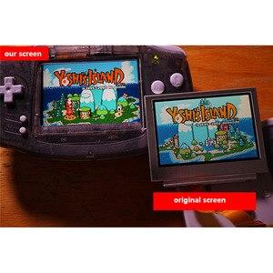 Image 4 - 10 niveaus Hoge Helderheid IPS Backlight LCD voor Nintend GBA Console Lcd scherm Verstelbare Helderheid Voor GBA Console