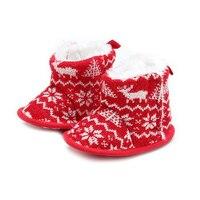الوليد الطفل أحذية الشتاء الأحذية الدافئة للفتيات عيد الطفل أحذية أحذية 0-1years xmax
