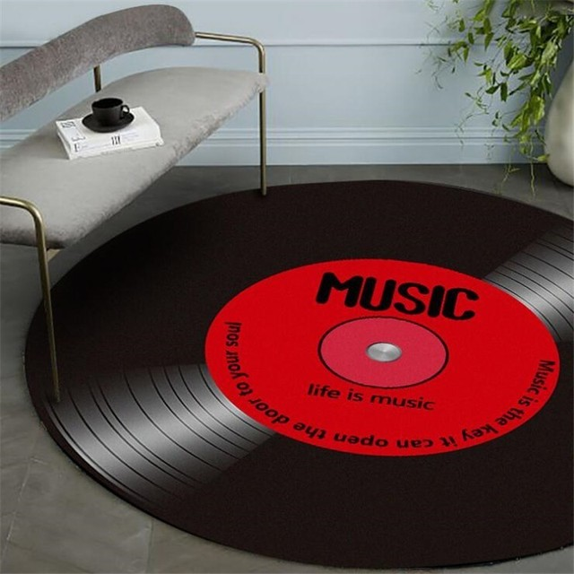 Retro Vinyl Record Wall Hangings 4